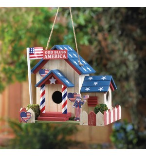 Patriotic Birdhouse