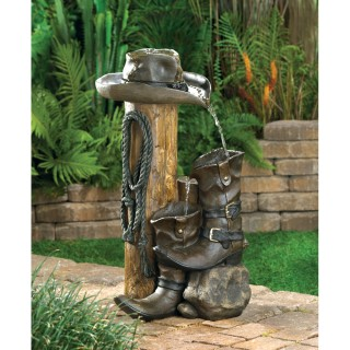 Wild Western Water Fountain