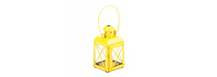 Railway Candle Lamp Yellow