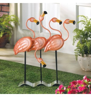 Flock Of Flamingos Decor
