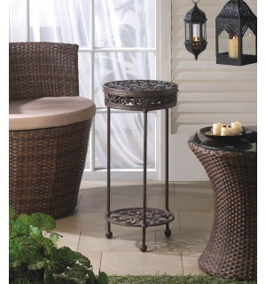 Cast Iron Round Plant Stand