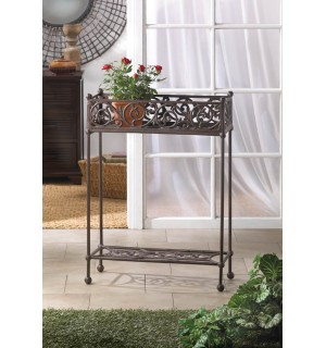 Cast Iron Two Tier Plant Stand