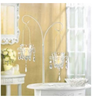 Mini Chandelier Votive Stand