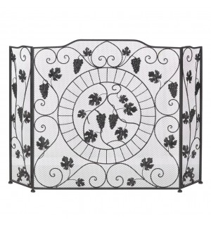 Vineyard Estate Fireplace Screen